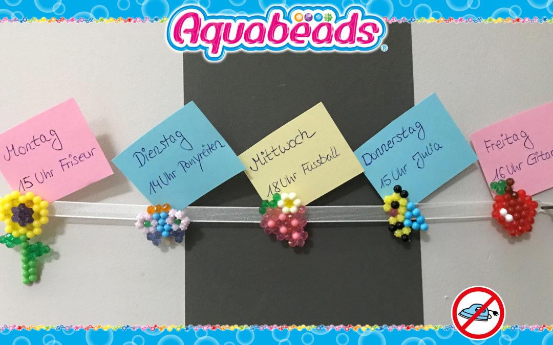 Aquabeads Clips für Memowand, Fotohalter, Tischkarten & Co.